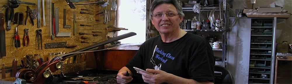 Fabrice Gougi Maitre Luthier d'Art